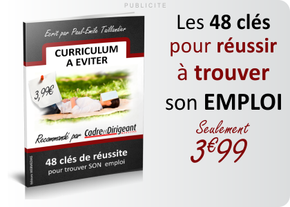 Ebook Curriculum à éviter
