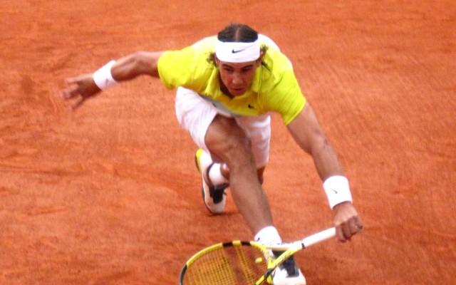 Rafael Nadal crédit  fr.wikipedia.org